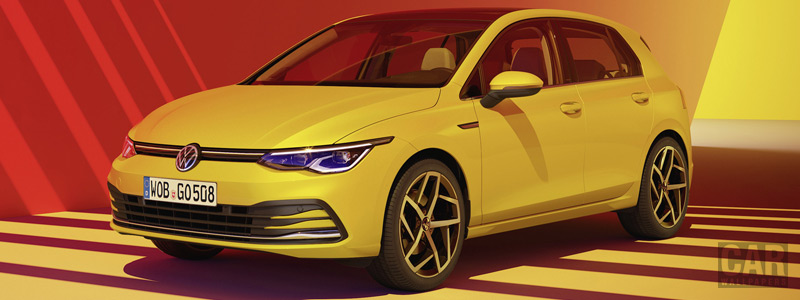 Cars wallpapers Volkswagen Golf Style - 2020 - Car wallpapers