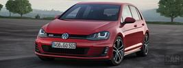 Volkswagen Golf GTD 5door - 2013