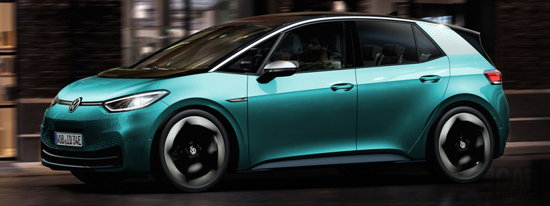 Cars wallpapers Volkswagen ID.3 1st - 2020 - Car wallpapers
