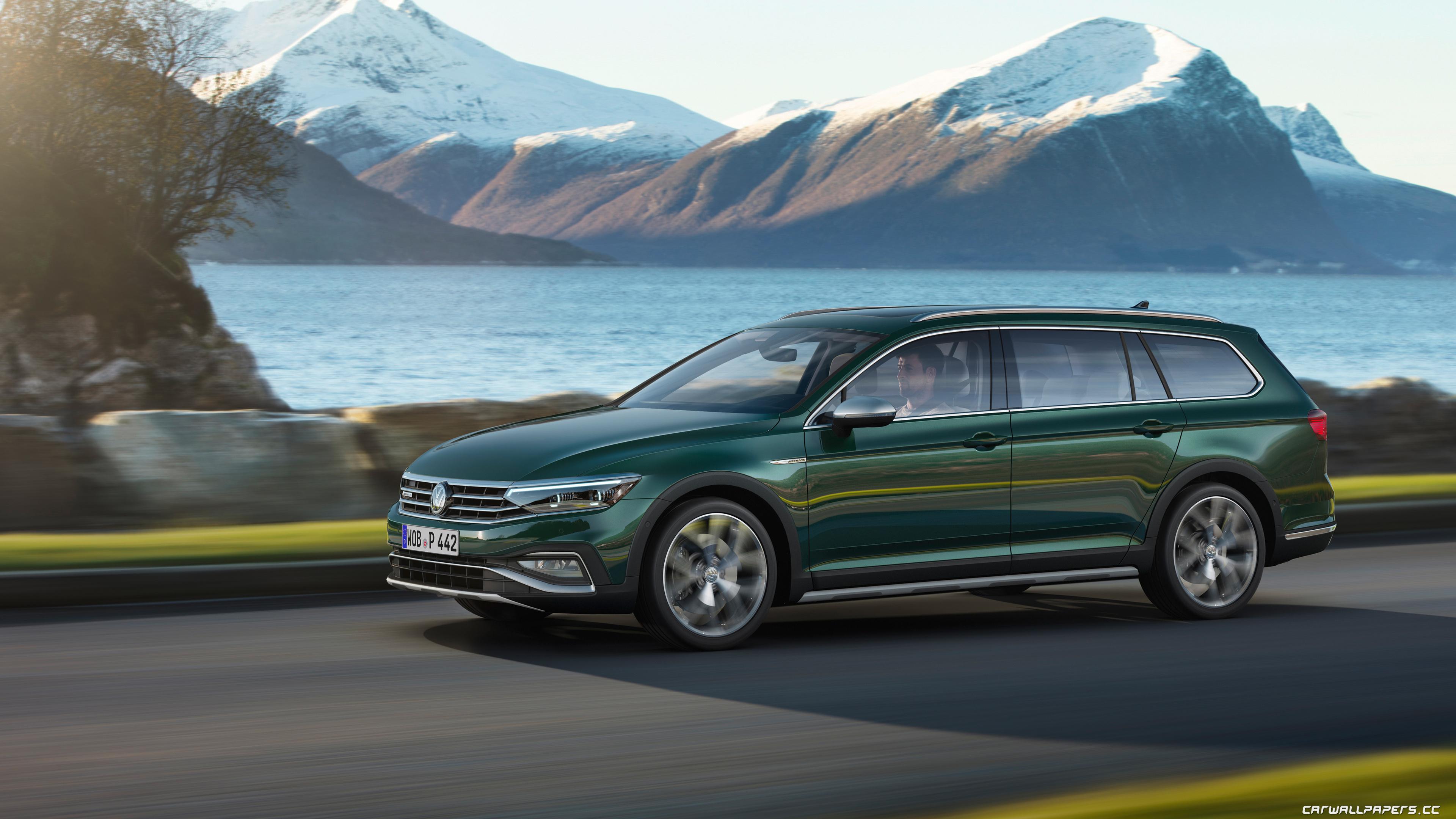 Cars Desktop Wallpapers Volkswagen Passat Alltrack 2019