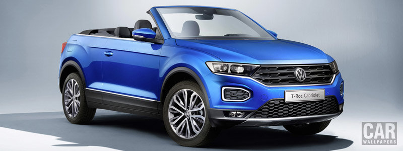 Cars wallpapers Volkswagen T-Roc Cabriolet - 2020 - Car wallpapers