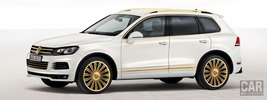 Volkswagen study Touareg Gold Edition - 2011